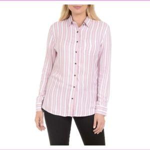 Jachs Girlfriend Ladies' Button Up Shirt Pink